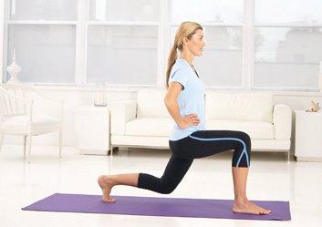 Exercice 4 : Fentes avant alternées avec pas