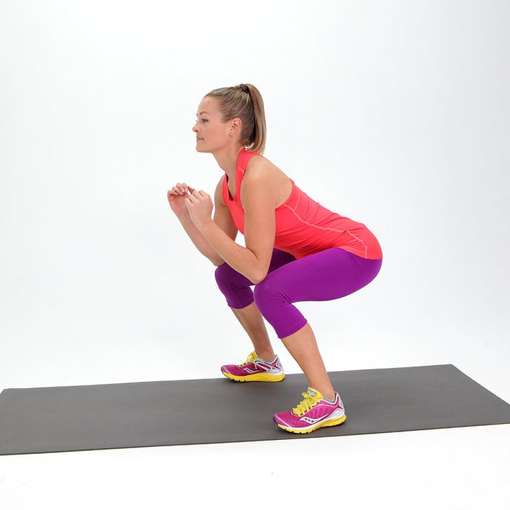 exercice fessier 1 les squats